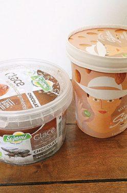 J'ai testé pour vous : une glace chocolat végane et un sorbet au lait d'amandes bio