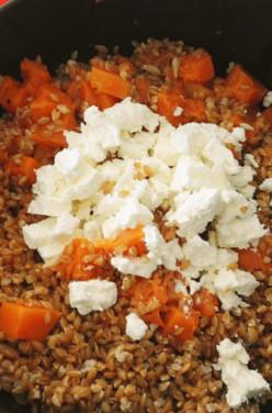 Salade de petit épeautre au potimarron et féta image