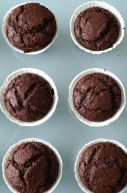 Muffins surprise au chocolat