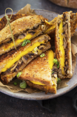 Grilled cheese vegan image