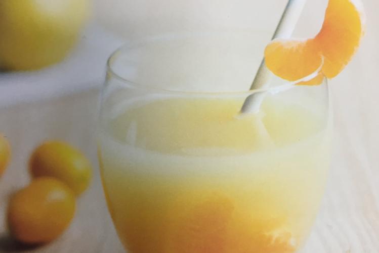 Cocktail vitaminé clémentine – poire – cannelle