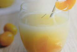 Cocktail vitaminé clémentine – poire – cannelle
