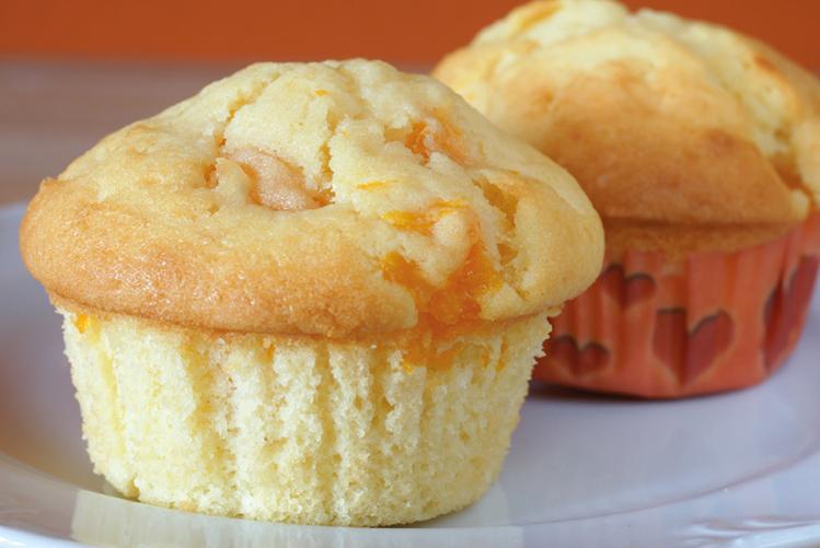 Muffins à la confiture de clémentines