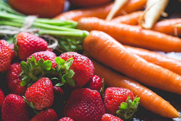 Les fruits et légumes bio d'Avril