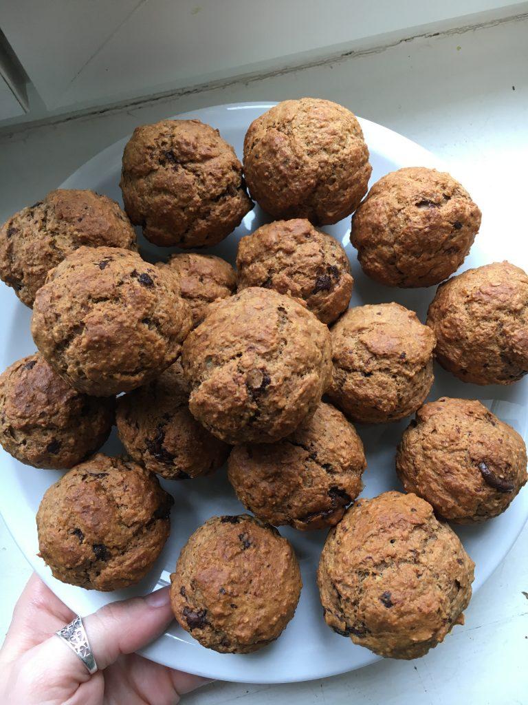 muffins-vegans-banane
