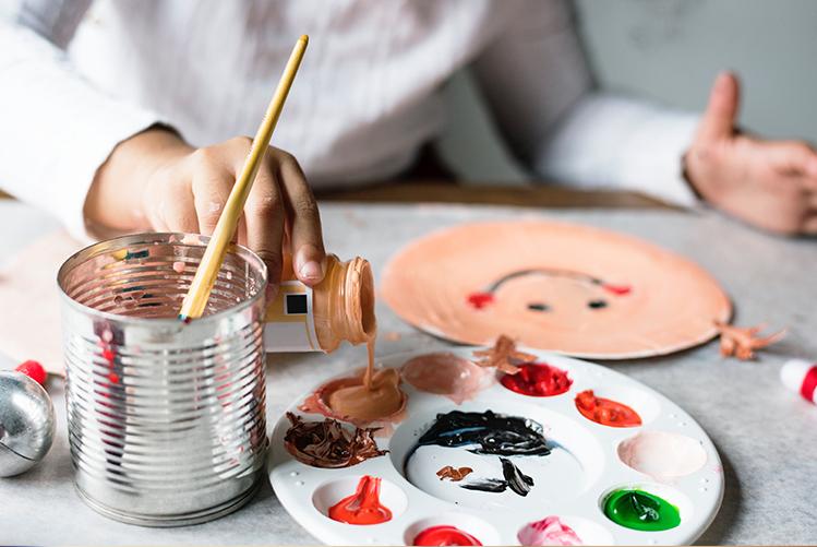 Ma peinture végétale pour enfants