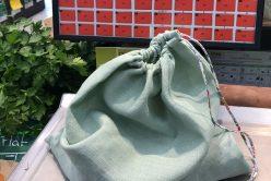 Comment faire de jolis sacs à fruits et légumes et vrac soi-même ?