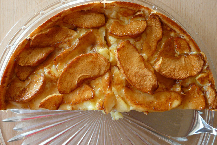 La tarte normande traditionnelle