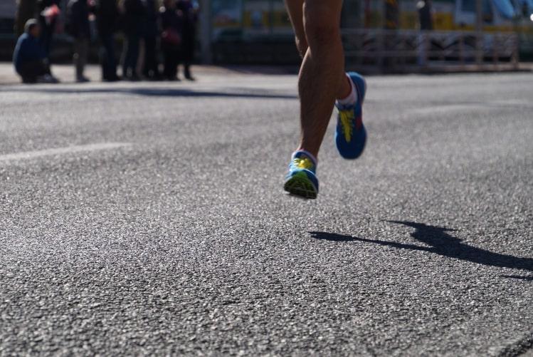 La Bio pour la préparation du Marathon de Paris.