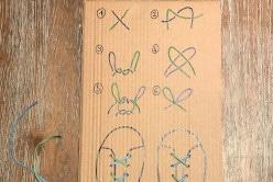 Apprendre aux enfants à faire leurs lacets