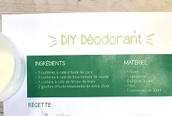 DIY : DÉODORANT