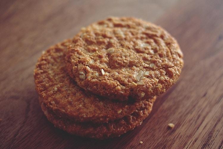 Cookies aux pommes séchées