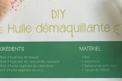 DIY : HUILE DÉMAQUILLANTE