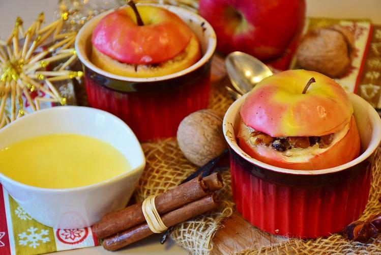 Pommes au four de Noël