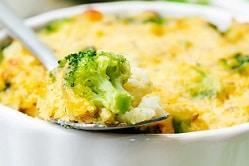 Tarte au brocolis et raclette