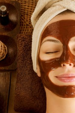 Masque visage cacao coco