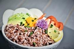 Le riz rouge du Kerala par Ecoidées