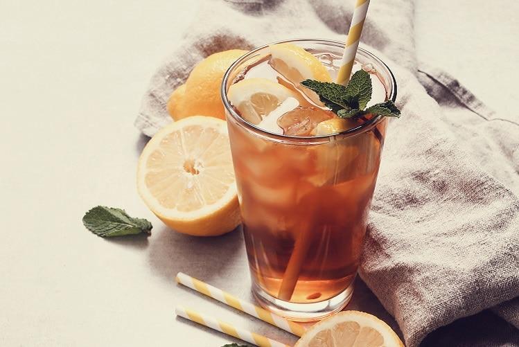Mon thé glacé au citron