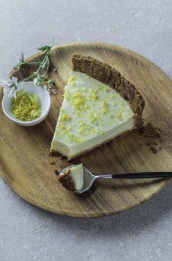 Idée recette Cheesecake façon tarte au citron, d'après Sojade !