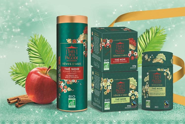Préparez Noël avec les Thés de la Pagode<sup>®</sup>