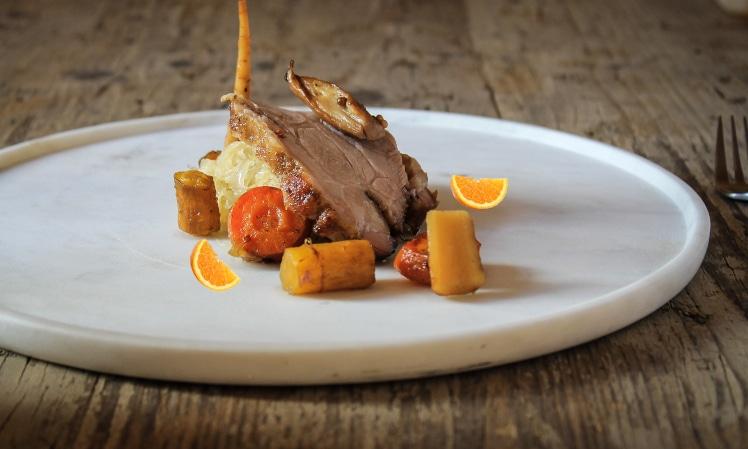 Rôti de veau à l'orange, la recette aux agrumes de saison