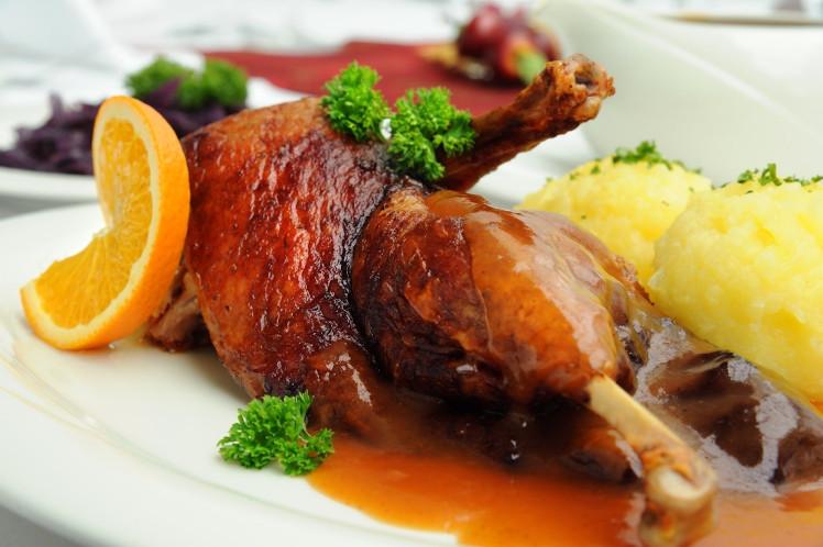 Cuisses de canard aux agrumes