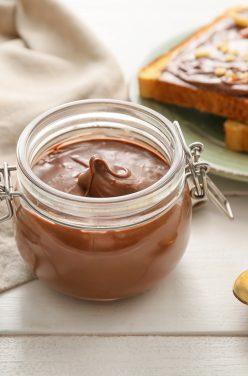 Pâte à Tartiner maison au chocolat