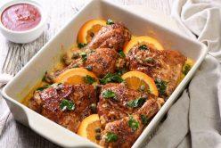 Cuisses de poulet aux 3 agrumes