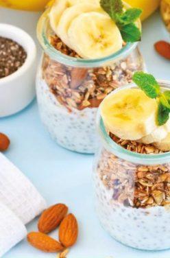 Idée de Recette Pudding Graines de Chia et Amandes